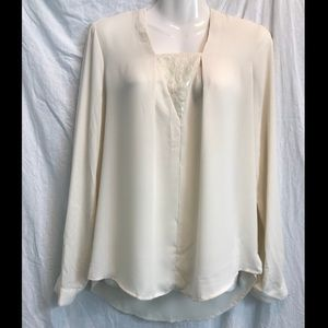 NWT Skies are Blue for Stitchfix ivory colored top